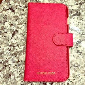 Michael Kors iPhone 8 Plus Case/Wallet